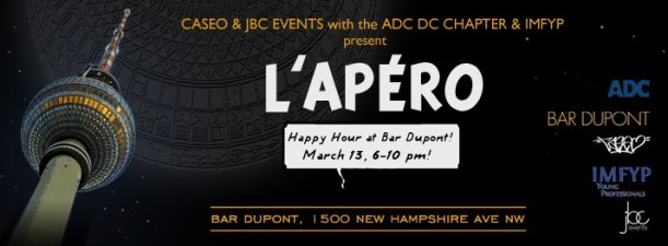 ADC DC Area Chapter Networker this Wednesday, 3/13!